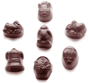 Chocolate World CW1485 Chocolate mould easter range 7 fig.