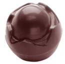 Chocolate World CW1486 Chocolate mould boiled egg 30 mm
