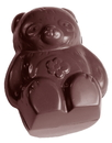 Chocolate World CW1494 Chocolate mould bear double