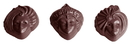 Chocolate World CW1501 Chocolate mould Venice 3 fig.