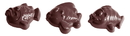 Chocolate World CW1506 Chocolate mould fish 3 fig.