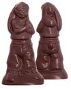 Chocolate World CW1515 Chocolate mould rapper rabbit