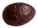 Chocolate World CW1516 Chocolate mould egg kroko 29 mm