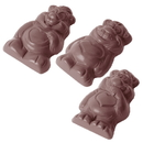 Chocolate World CW1518 Chocolate mould little bears 3 fig.