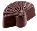 Chocolate World CW1525 Chocolate mould hand fan small