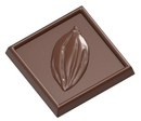 Chocolate World CW1540 Chocolate mould caraque cocoa bean