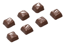Chocolate World CW1551 Chocolate mould easydip square 7 fig.