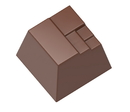 Chocolate World CW1557 Chocolate mould modern square