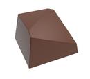 Chocolate World CW1559 Chocolate mould diagonal 8 gr