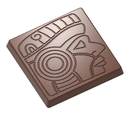 Chocolate World CW1565 Chocolate mould caraque maya