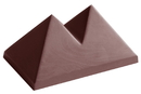 Chocolate World CW1573 Chocolate mould BE pyraline