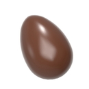 Chocolate World CW1582 Chocolate mould smooth egg 33 mm