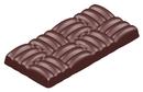 Chocolate World CW1583 Chocolate mould bar woven