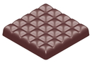 Chocolate World CW1584 Chocolate mould bar square