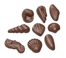 Chocolate World CW1586 Chocolate mould seafruit 9 fig.