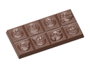 Chocolate World CW1589 Chocolate mould tablet smiley