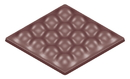 Chocolate World CW1592 Chocolate mould tablet bubbles