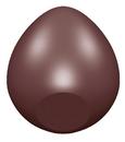 Chocolate World CW1596 Chocolate mould egg primitive cut 52 mm