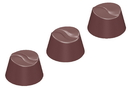 Chocolate World CW1605 Chocolate mould round wave S 3 fig.