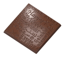 Chocolate World CW1614 Chocolate mould caraque new year
