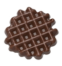 Chocolate World CW1626 Chocolate mould small waffle