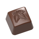 Chocolate World CW1637 Chocolate mould stamp cocoa square