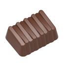 Chocolate World CW1646 Chocolate mould praline steps