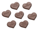 Chocolate World CW1658 Chocolate mould hearts 7 fig.