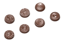 Chocolate World CW1662 Chocolate mould butons 7 fig.