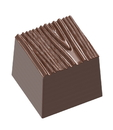 Chocolate World CW1676 Chocolate mould structura 2 wood