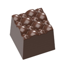 Chocolate World CW1677 Chocolate mould structura 3 bubble