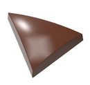Chocolate World CW1678 Chocolate mould rounded triangle