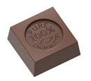 Chocolate World CW1687 Chocolate mould cube
