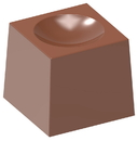 Chocolate World CW1695 Chocolate mould cube