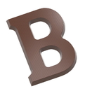 Chocolate World CW1701 Chocolate mould letter B 200 gr