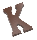 Chocolate World CW1710 Chocolate mould letter K 200 gr