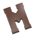 Chocolate World CW1712 Chocolate mould letter M 200 gr
