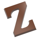 Chocolate World CW1725 Chocolate mould letter Z 200 gr