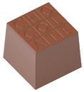 Chocolate World CW1729 Chocolate mould cube