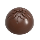 Chocolate World CW1732 Chocolate mould half sphere with crack Ø 31 mm