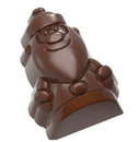 Chocolate World CW1737 Chocolate mould santa claus