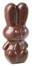 Chocolate World CW1739 Chocolate mould modern rabbit 99, 5 mm