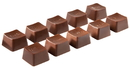 Chocolate World CW1741 Chocolate mould keys 10 fig.