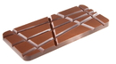 Chocolate World CW1769 Chocolate mould tablet slanting fault line