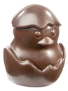 Chocolate World CW1786 Chocolate mould chick from egg