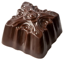Chocolate World CW1787 Chocolate mould ornament square