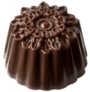 Chocolate World CW1788 Chocolate mould ornament round