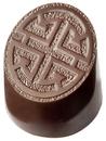 Chocolate World CW1794 Chocolate mould jade stamp