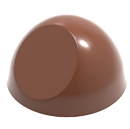 Chocolate World CW1846 Chocolate mould half sphere with flat side  Ø 32 mm