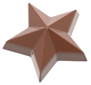 Chocolate World CW1862 Chocolate mould star